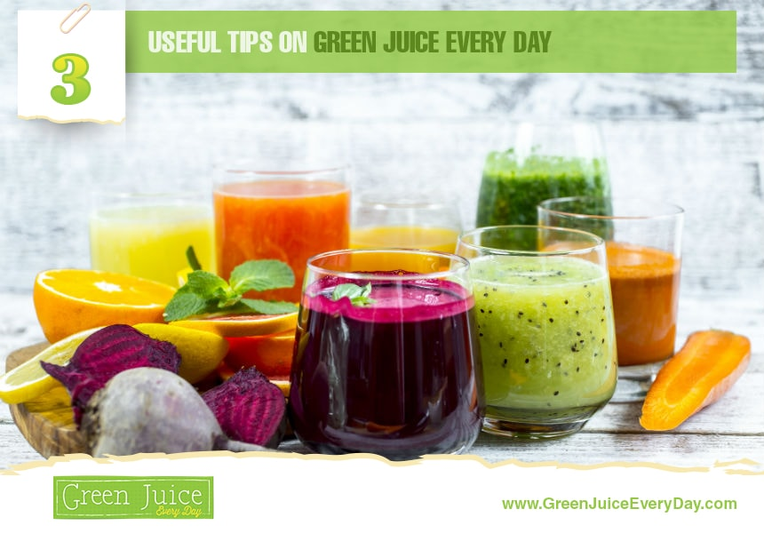 reasons to drink green juice every day
